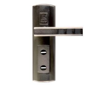 Ручки на планке Кватро, под 2 ключа (автомат), правые